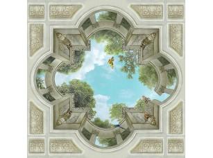 Фотообои «Вид в небо с колоннами»