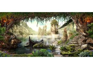 Фотообои «Вид из пещеры»