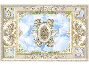Фотообои «Потолок с ангелами»