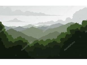 Фотообои «горы Голубого хребта»