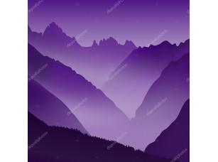 Фотообои «Безжизненные пейзаж с огромной горы»