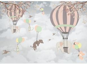 Фотообои «Воздушные шары и воздушные шарики»