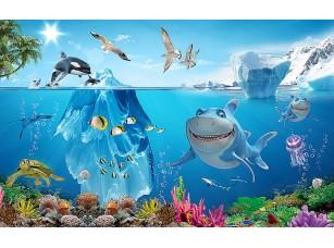 Фотообои «Акула улыбается»