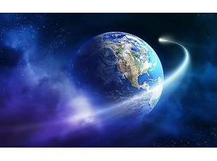 Фотообои «Вращение вокруг земли»