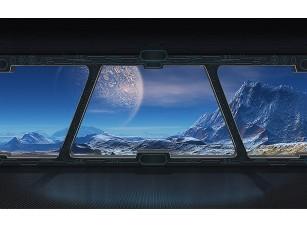 Фотообои «Вид из космического корабля»