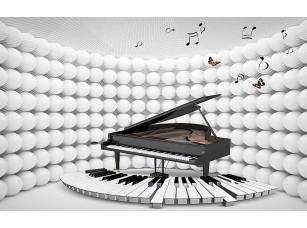 Фотообои «3D рояль»