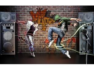 Фотообои «Двое в танце»