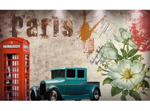 Фотообои «Конверт с надписью Париж»