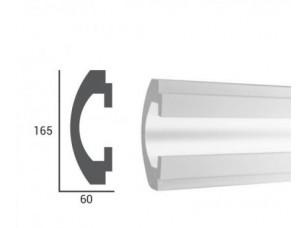 молдинг встраиваемый для светодиодных систем из полистирола