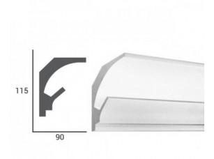 Карниз световой под подсветку Tesori KD201 из пенополистирола