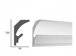 Карниз световой под подсветку Tesori KD202 из пенополистирола