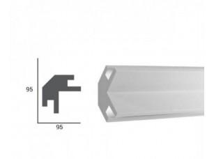 Карниз светтовой под подсветку Tesori KD203 из пенополистирола