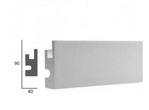 Карниз световой под подсветку Tesori KD301 из пенополистирола
