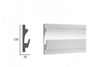 Карниз световой под подсветку Tesori KD401 из пенополистирола