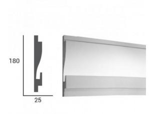 Карниз световой под подсветку Tesori KD404 из пенополистирола