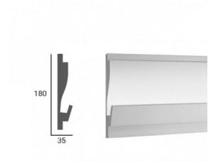 Карниз световой под подсветку Tesori KD405 из пенополистирола