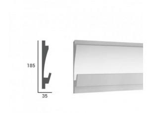 Карниз световой под подсветку Tesori KD406 из пенополистирола