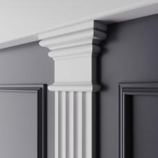 Декор. эл-т верхний Ultrawood из ЛДФ арт. D 3011N (110x89x30)