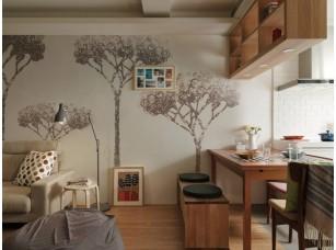 Обои Arbre Ажурные деревья интерьер 16853