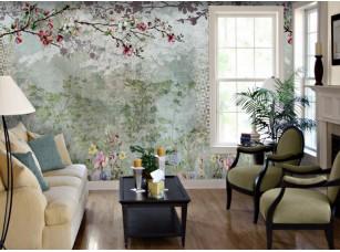 Обои Arbre Вишневые цветы интерьер 18541