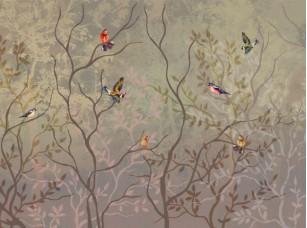 Обои Arbre Птицы романтика 18542