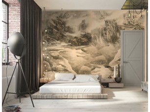 Обои Chinoiserie Paper landscape интерьер 17061