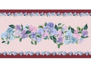 Обои Dolce Hydrangea pink boarder 17857