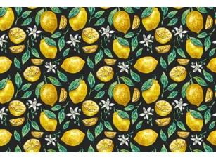 Обои Dolce Lemons Black 17871