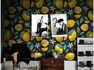 Обои Dolce Lemons Black интерьер 17872