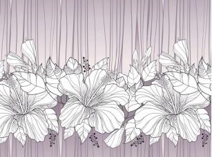 Обои Floreale Hibiscus 17262