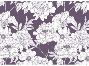 Обои Floreale White flowers 17306