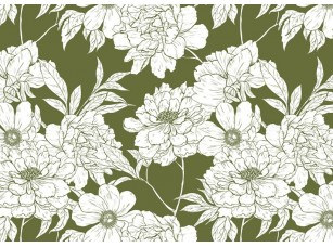 Обои Floreale White flowers 2 17308