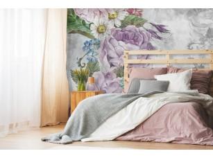 Обои Floreale Flowers with texture 4 интерьер 17328