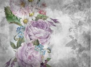 Обои Floreale Flowers with texture 4 17329