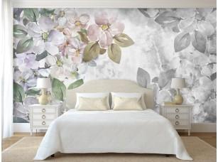 Обои Floreale flowers with texture интерьер 17330