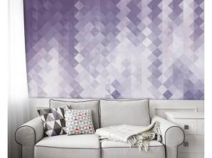 Обои Geometry Фиолетовый градиент интерьер 17705
