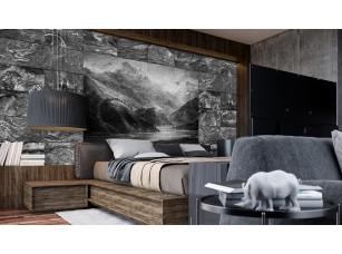 Обои Grayscale Пейзаж на камнях #2 интерьер 16981
