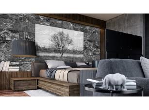 Обои Grayscale Пейзаж на камнях #3 интерьер 16982