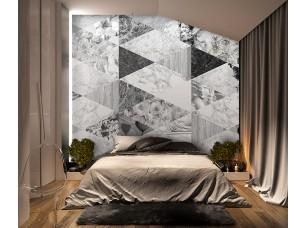 Обои Grayscale Marble dream интерьер 16997