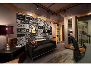 Обои Grayscale Audio интерьер 17005
