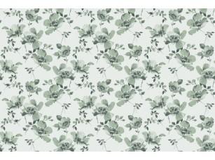 Обои SweetHome Ink flower (green) 18842