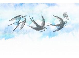 Обои SweetHome Swallows 18845