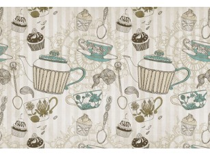 Обои Tea time Tea pots 17203