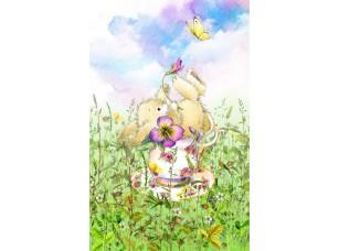 Обои Tea time Sweet bunny 17204