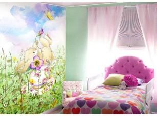 Обои Tea time Sweet bunny интерьер 17232