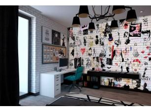 Обои TeenDream Glam Wall интерьер 17436
