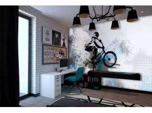 Обои TeenDream Bike #1 интерьер 17441