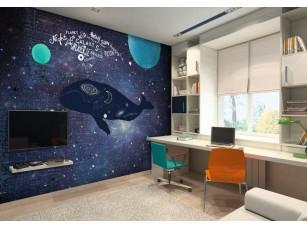 Обои TeenDream Space whale #1 интерьер 17448