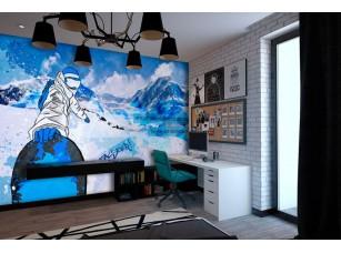 Обои TeenDream Snowboard #3 интерьер 17459