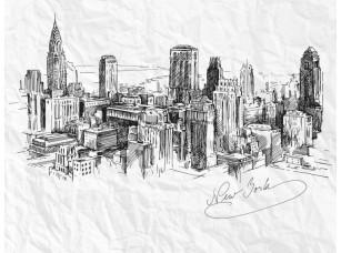 Обои Urban Sketch NY 18447